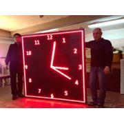 Светодиодные часы фото