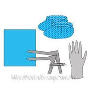 К-т для гинек. осмотров №3.1 (салфетка, зеркало, перчатки (1пара), бахилы), «Неман» фото