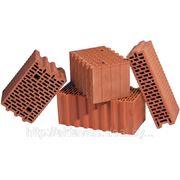 Блок керамический поризованный пустотелый М-125 510х250х138 фото