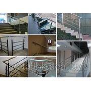 Ограждения из нержавеющей стали, ограждения из черного металла, ограждения, ворота, перила, козырек, фото