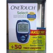 Глюкометр Ван Тач Селект (One Touch Select) Акция! тест-полоски №50 в подарок! фото