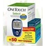 Глюкометр (Ван тач) OneTouch Select + 50 тест-полосок АКЦИЯ! фото