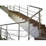 Лестницы из нержавеющей стали, Лестница из нержавеющей стали со стеклом, лестница стальная, фото