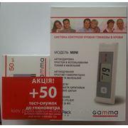 Глюкометр Гамма Мини (Gamma Mini) + тест-полоски №50 Акция! фото