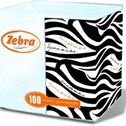 Салфетки бумажные Зебра фото