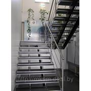 Лестница из нержавейки PR4 фото