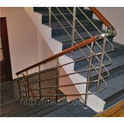 Лестница из нержавейки PR3 фото