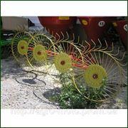Граблі колисні-обертові 4 колеса фото