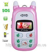 Бесплатная Доставка Лучший Подарок Ребенку:Детский Мобильный Телефон,Детский GPS трекер+ Мобильный фото