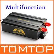 Автомобильный GPS Tracker 103В с дистанционным управлением GSM сигнализация Слот для карты SD сигнализация фото