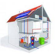 Монтаж систем отопления водоснабжения фото