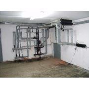 Строительство внутренних систем отопления фото