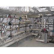 Монтаж центральных (индивидуальных) тепловых пунктов (ЦТП ИТП) фото