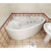 Акриловая гидромассажная ванна ПЕАРЛ-ШЕЛЛ правая, 1600 x 1040 мм фото