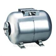 Гидроаккумулятор водоснабжения горизонтальный 24 л нержавейка фото