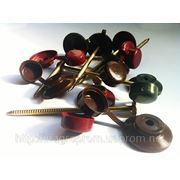 Крепеж для кровли: гвозди 3.2х70 mm с колпачками с защелкой трех цветов - ISO 9001 фото
