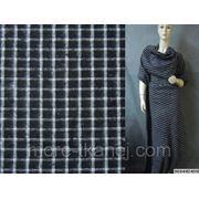 Ткань костюмная в клетку фото