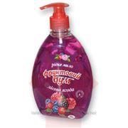 Мыло жидкое с дозатором Фруктовый Бум, 500г, лесная ягода (55212) фото