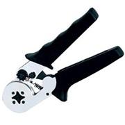 Пресс-клещи для опрессовки одинарных и двойных втулочных наконечников 0,08-6 / 2*0,5-2*4 мм² фото