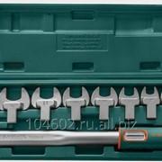 Набор: динамометрический ключ 1/2DR со шкалой 40-200 Нм и насадки 12-30 мм, 11 предметов, код товара: 48440, артикул: T102001S фото