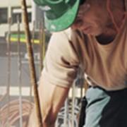 Постармирование бетона. фото
