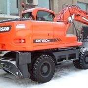 Аренда колёсного экскаватора Doosan DX160W фото