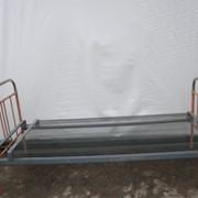 Кровать армейская металлическая фото