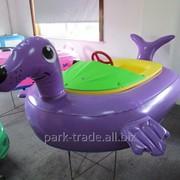 Бамперная лодочка Морской котик фото