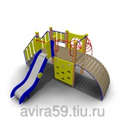 Детский игровой комплекс для улицы ИК-13 Размеры 4500х4380х2150мм фото