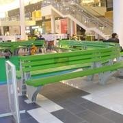 Скамейки для мест отдыха фото