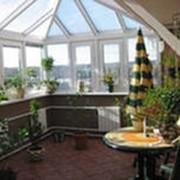 Зимний сад из стекла фото