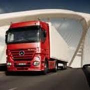 Перевозки автомобильным грузовым транспортом фото