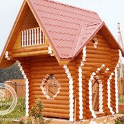 Строительство деревянных домов М-1 фото