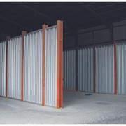 Модульные стенки с вертикальным расположением профлиста фото