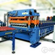 Линия автоматическая изготовления металлочерепицы/профлиста ЛА 120 фото