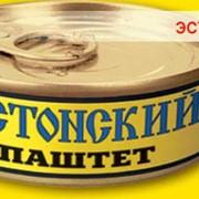 Паштет печёночный консервированный классический ЭСТОНСКИЙ от компании «ОНИСС» фото