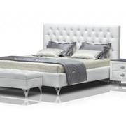 Кровать Версо Мотив Базовый размер: 220 x 180 h 122 см. фото