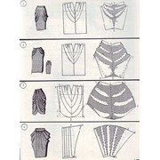 Моделирование юбок фото