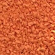Резиновое покрытие Оранжевый PlayMix для детских площадок фото