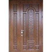 Входные двери с художественной резьбой 12 фото