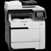 Принтер HP LaserJet Pro 300 MFP M375nw (цветной) фото