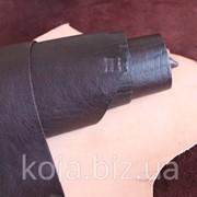 Натуральная кожа для обуви и кожгалантереи коричневая арт. СК 2022 фото