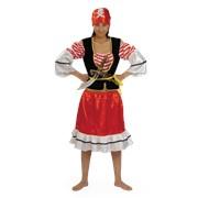 Костюм карнавальный для взрослых Пиратка фото