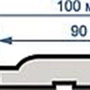 Вагонка липа 15мм х 90 (100мм) 1,6 м сорт С фото