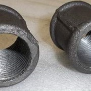 Муфта стальная 100 ГОСТ 8966-75, оцинкованная фото