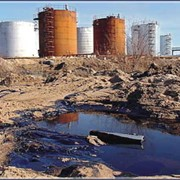 Ликвидация нефтерозливов и рекультивация загрязненной территории фото