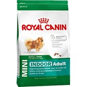 Mini Indoor Royal Canin корм для щенков, От 10 месяцев до 8 лет, Пакет, 1,5кг фото
