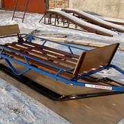 Модель С-20 (с независимой шарнирной подвеской лыж) фото
