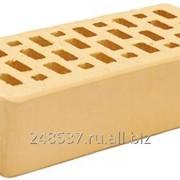 Кирпич облицовочный ваниль одинарный гладкий М-150 Терекс фото