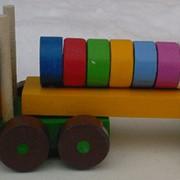 Конструктор деревянный Автоцистерна 523141 320х90х100 фото